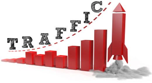 grafic care indica traficul